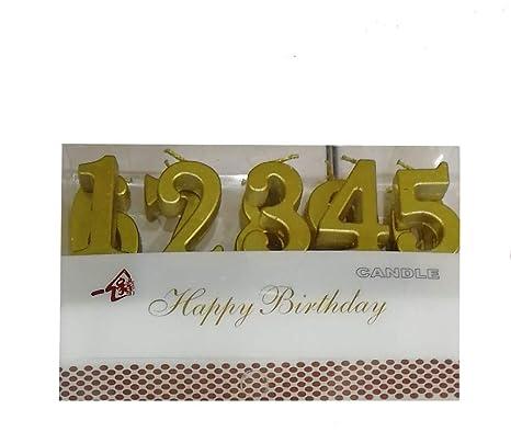 Amazon.com: Trend Essentials - Velas de cumpleaños con ...