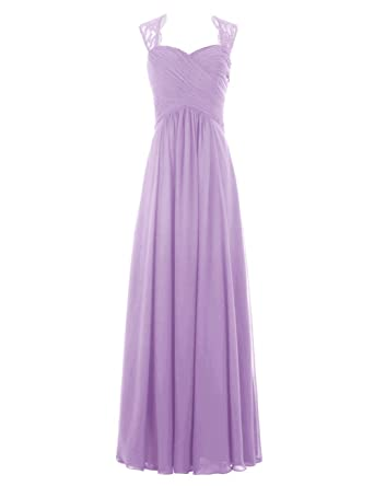 Ever Love® A-Linie Chiffon Brautjungfernkleider Ballkleid ...