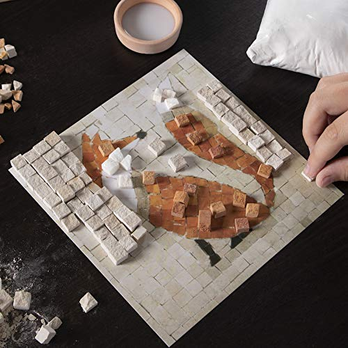 Fat Brain Toys Make A Real Mosaic Fox Arts /& Crafts for Ages 8 to 12