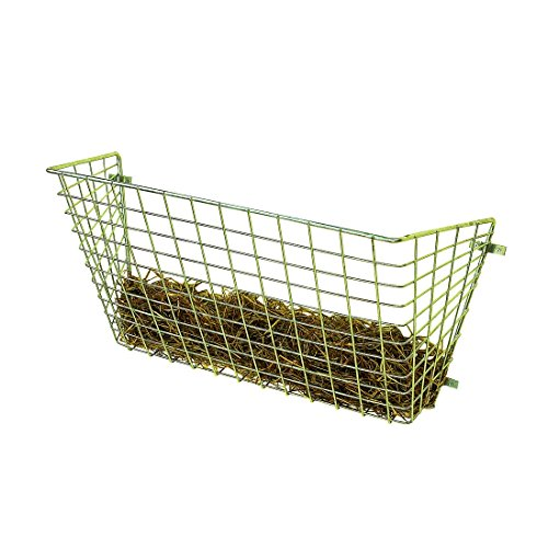 Stubbs Haylage Rack Wall Mounting S144 (One Size) (Silver) by Stubbs
