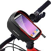 Redlemon Bolsa para Bicicleta Impermeable, Compartimento para Celular y Accesorios, Cubierta Táctil Ultrasensible,...