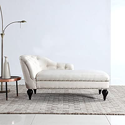 Divano Roma Furniture Modern and Elegant Kid's Chaise Lounge for Living Room or Bedroom