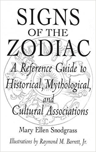 Signs of the zodiac a reference guide to historical mythological signs of the zodiac a reference guide to historical mythological and cultural associations studies 33 fandeluxe Images