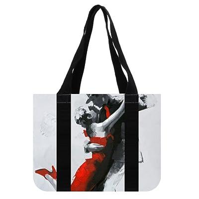 c649f3b96c67 hot sale LiFei Business Dancing Couple Custom Tote Bag Shipping Bag canvas  bags
