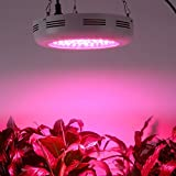 Derlights 300W UFO LED Plant Grow Light, Full Spectrum Grow Light for Indoor Plants, Grow Lamp for Indoor Gardening Hydroponics Greenhouse