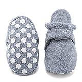 CIOR Baby Cozy Fleece Booties with Non Skid