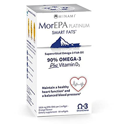 MoreEPA Platinum, Omega 3, EPA, DHA, Vitamin D, Blood Circulation,