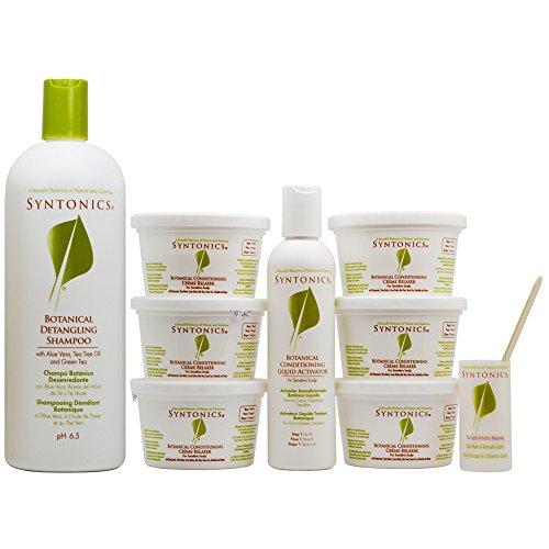 Detangling Shampoo 32oz & Relaxer 6 Pack Kit