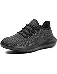 Women`s Fashion Sneaker Lightweight Knitted Lace-up...