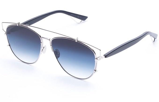 b2ea78258fd8 Dior Technologic Sunglasses 57mm Silver/Blue: Amazon.co.uk: Clothing