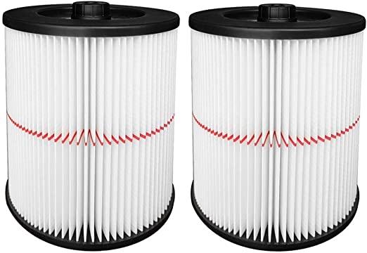 Replacement Cartridge Filter for Shop Vac Craftsman 9-17816 Wet Dry Air Filter.