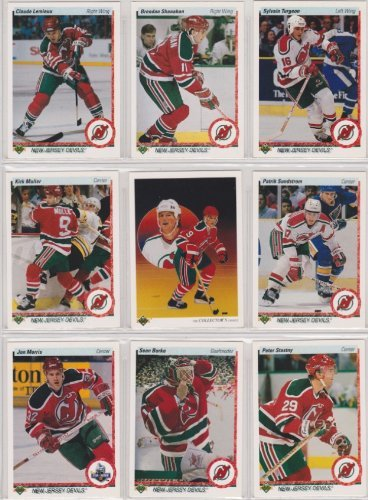 - New Jersey Devils 1990-91 Upper Deck Team Set w/ High Numbers (25 Cards) (Premier Upper Deck Hockey Issue) (Brendan Shanahan) (Claude Lemieux) (Kirk Miller) (Patrick Sundstrom)