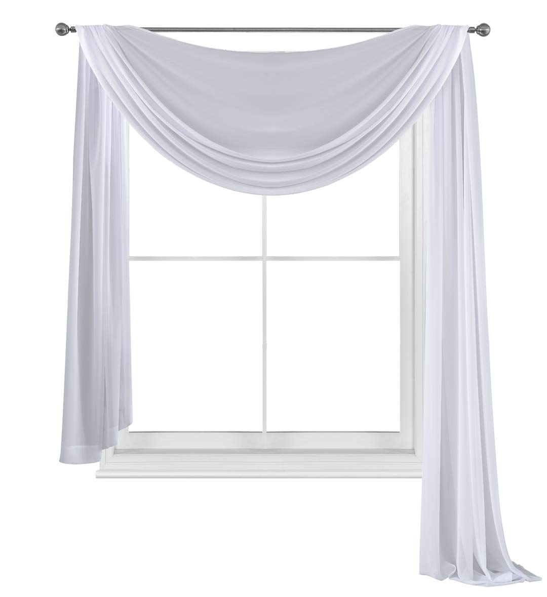 Amazoncom Wpm World Products Mart Beautiful White Elegance Window