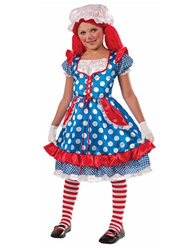 Forum Novelties Rag Doll Girl Costume