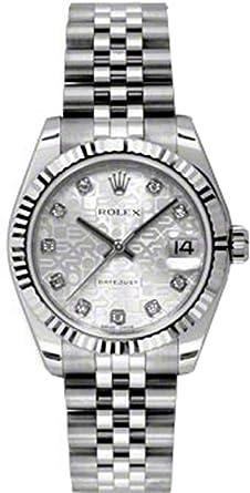Amazon Com Rolex Lady Datejust 31 178274 Rolex Watches