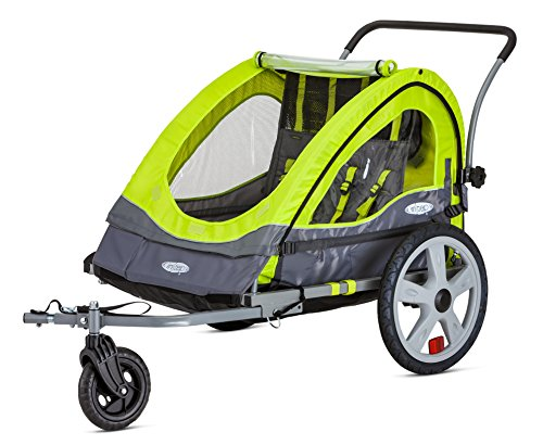 (InStep Quick-N-EZ Double Child Carrier Bicycle Trailer, 2-Passenger )