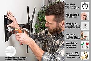 Toggler 11021 Td 1 Grip 50//pk Hollow-wall Toggler
