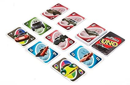 Mattel Games UNO Fast and Furious Card Game