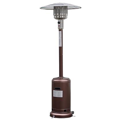 Giantex Steel Outdoor Patio Heater Propane Lp Gas W/accessories (Bronze) - Amazon.com : Giantex Steel Outdoor Patio Heater Propane Lp Gas W