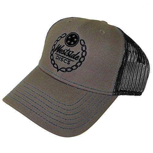 Westside Discs Logo Snapback Mesh Disc Golf Hat - Gray/Black