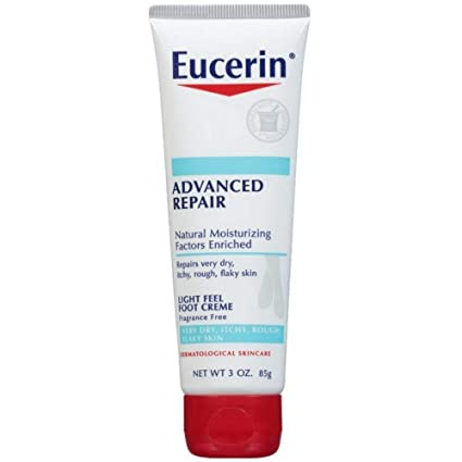 Eucerin Intensive Repair Foot Creme 3 Oz (Pack of 2)
