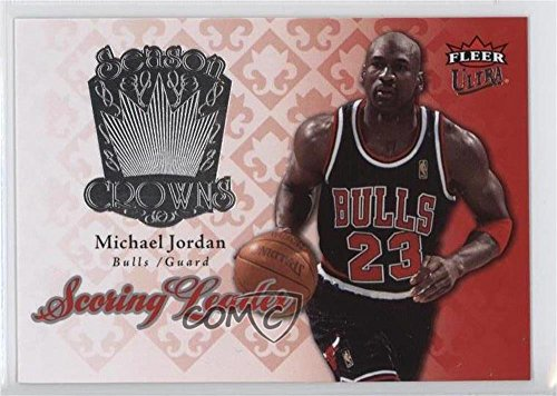 (Michael Jordan (Basketball Card) 2007-08 Fleer Ultra - Season Crowns #SC-22)