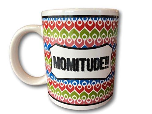 - Mug Chat by Ganz Mom Mug Funny Sayings Coffee Mug Just For Moms Ceramic 10oz mugs (Momitude)