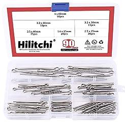 Hilitchi 90-Pcs Cotter Pin Assortment Ki...