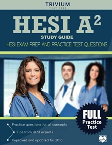 hesi a2 study guide hesi exam prep and practice test questions rh amazon com Elsevier HESI A2 Study Guide HESI A2 Study Guide Worksheet