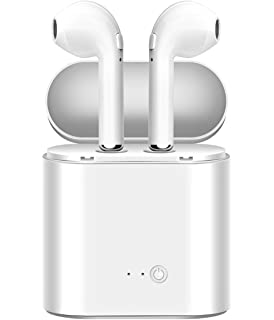 True Wireless Headphones, Bluetooth Earbuds Stereo Earphone Cordless Hand-free Headsets for Apple AirPods
