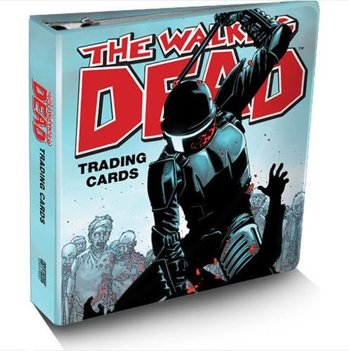 The Walking Dead SDCC 2012 San Diego Comic Con Exclusive Trading Card Binder Set