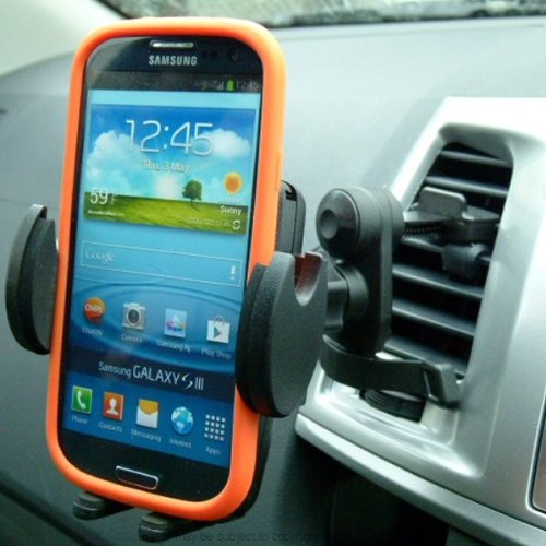 (Secure Car Vehicle Air Vent Mount for Samsung Galaxy S3 S4 & S5)