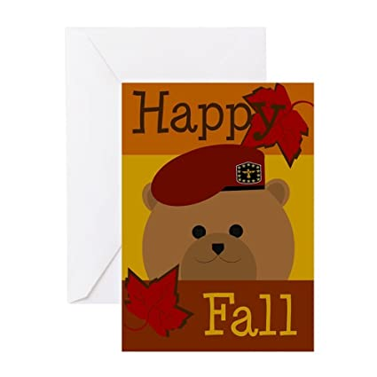 Amazon cafepress army airborne soldier happy fall greeting cafepress army airborne soldier happy fall greeting cards greeting card note card bookmarktalkfo Choice Image