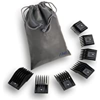 Oster Universal Comb Attachment Blade Guard 7-Piece Set, Size # 0, 1, 2, 4, 6, 8, 10 for Oster Professional Clippers