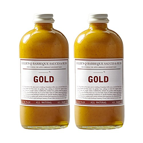LILLIE'S Q GOLD BARBECUE SAUCE, 2 PACK