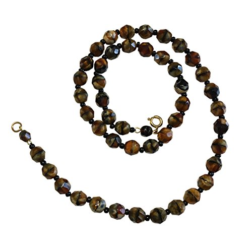Stone Necklace Tank (Long Beaded Necklaces, Faux Pearl Necklaces, Gatsby and Holiday Style Necklaces (