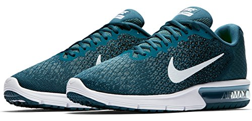 Nike Mens Air Max Sequent 2 Scarpe Da Corsa (11,5 D (m) Us, Legione Blu / Bianco / Nero)