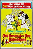 101 Dalmations Movie Poster #01 24x36in