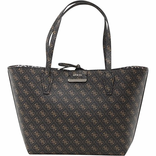 GUESS Bobbi Inside Out Tote, Brown