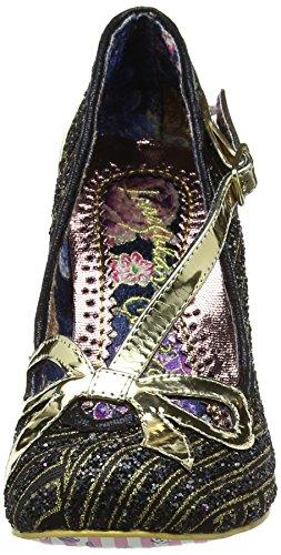 Tacón Irregular Negro Choice para Bubble Zapatos de Black Mujer xxSqRan