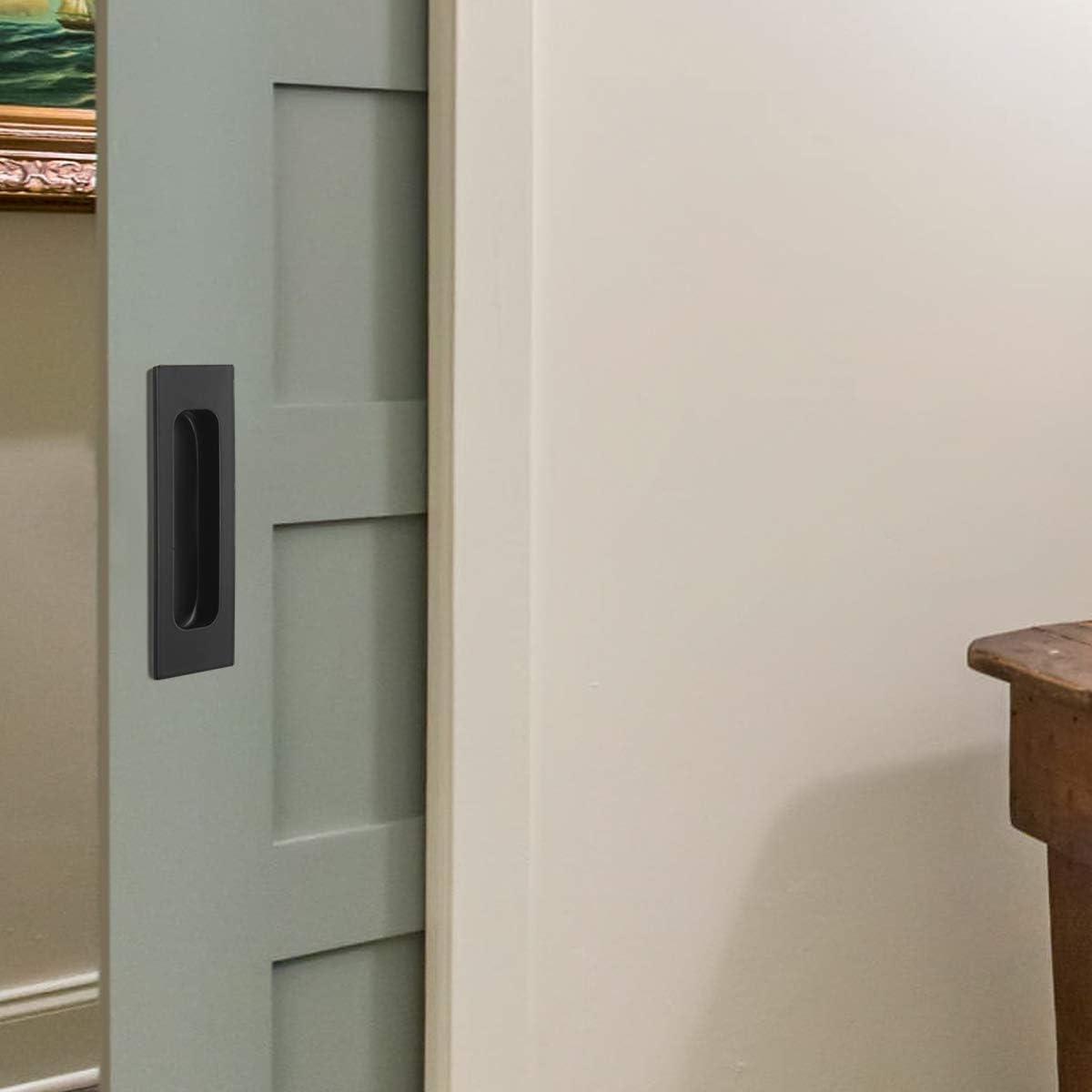 Probrico MH007 puerta corredera armario cajón mango rectangular empotrada Flush Pull 4,75