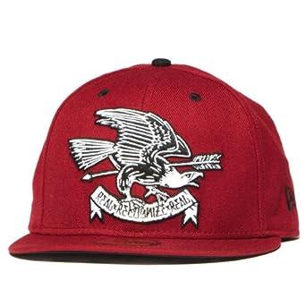 8d26bf4358795 Rebel8 Eagle Eye New Era Hat Red at Amazon Men s Clothing store ...