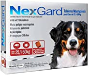 NexGard Antipulgas e Carrapatos para Cães de 25,1 a 50kg, 3 tabletes