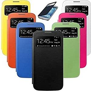 WQQ Smart Wake View PU Leather Case for Samsung S4 Mini 9190 (Assorted Colors) , Rose