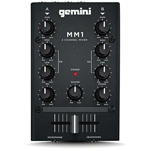 Gemini MM1 2 Channel Compact Mixer