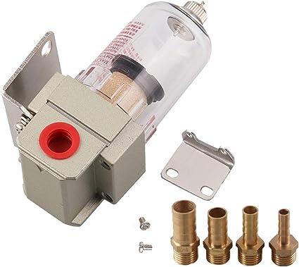 DEDC 1Juego Filtro de Combustible de Gasolina de Coche Universal Impurezas de Filtro de Automóvil Herramienta de Separador de Aceite de Motor Tanque Tubos de Conexión de 6mm / 8mm / 10mm / 12mm