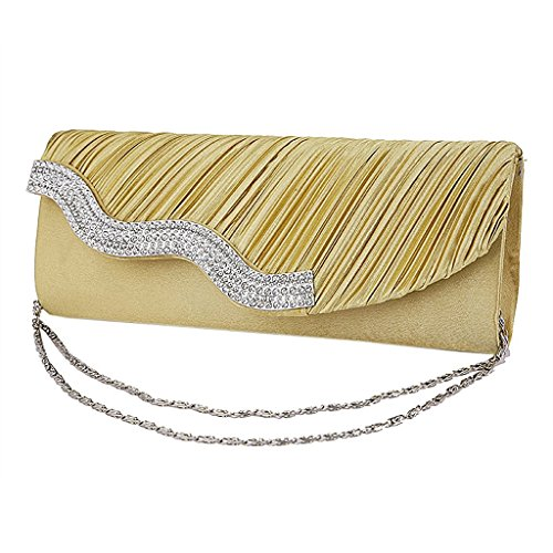 Bag Evening Ladies' Golden GaGadot Party Wedding Handbag Chain for wIdq5