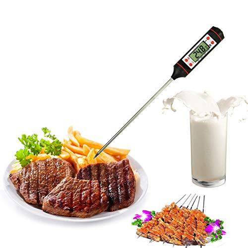 Termómetro de carne, BTGGG Termómetro de cocina para cocinar Lectura instantánea digital con sonda para asar carne...