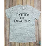 Father of Dragons Shirt, Game of Thrones, Birthday Gift, Gift For Dad, Dad Gift, Vintage, Dragons, GOT Gift, Dragon Shirt, Anniversary Gift, Funny Gift