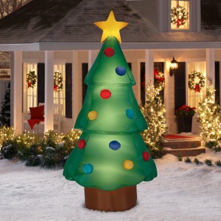 Airblown Inflatable-Christmas Tree Giant 10ft tall by Gemmy Industries by Airblown Inflatables